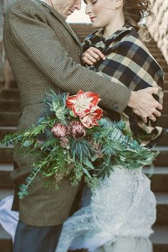 Oregon Old-World Glamour: Scottish Elopement