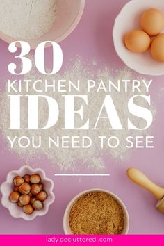 We have been there once or twice in our lives, drooling over these marvelous, gorgeous, and brilliantly organized pantries that bring a tear to our eye. Small Pantry Organization, I Heart Organizing, Container Organization, Pantry Storage, Organization Hacks, Organizing Tips, Decluttering Ideas, Cleaning Tips, No Pantry Solutions