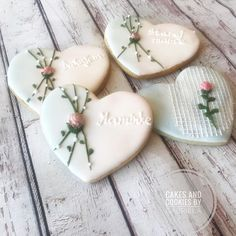 "Cake and cookies by Gabriela on Instagram: ""Delicate heart cookies #cakesandcookiesbygabriela #decoratedcookies #cookiesindoha#doha #zilina #medovnikyzilina"" Heart Cookies, Doha, Cookie Decorating, Delicate, Cake, Desserts, Instagram, Tailgate Desserts, Deserts"