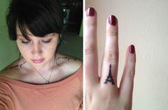 "Kirsten Leah: Tattoos ""awake my soul"" eiffel tower"