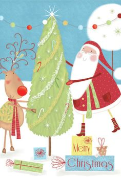 Sophie Hanton - sophie hanton - santa & tree SEH1034.jpg