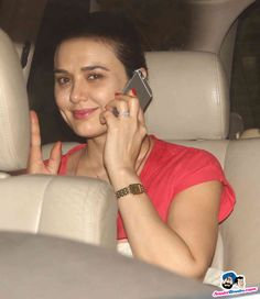 Bombay Velvet Screening at Sunny Super Sound -- Preity Zinta Picture # 305778
