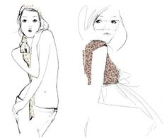 Fabulous Doodles-Fashion Illustration Blog-by Brooke Hagel: Fun Fashionable & French