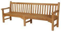 Glenham Teak Seat Bench - Xlarge