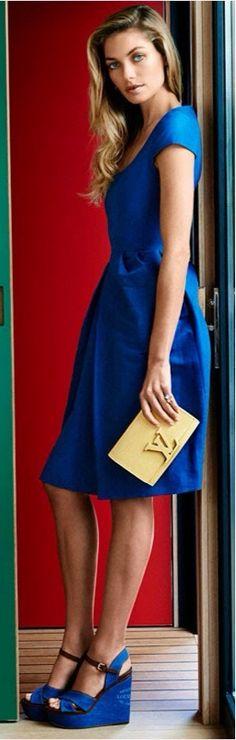 Blue Louis Vuitton