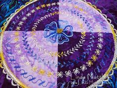 Creative Sewing in Circles – How to Use a Circular Sewing Attachment | Linda Matthews: Textile Art & Design