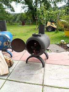 log burner, Chiminea, Patio Heater, Stove, Gas Bottle Woodburner Free P