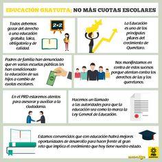 en México todos debemos gozar del derecho a una educación gratuita, laica, obligatoria, de calidad; pero sobre todo sin pretexto ni condiciones.