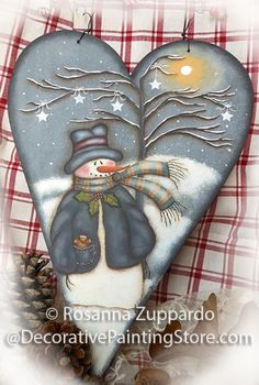 snowman tole paintings free | The Decorative Painting Store: Star Tree Pattern, Newly Added Painting ...