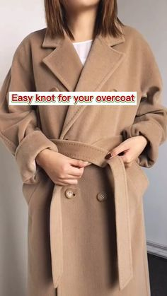 Mode Outfits, Chic Outfits, Fall Outfits, Fashion Outfits, Diy Clothes Life Hacks, Clothing Hacks, Diy Belt For Dresses, Diy Fashion Hacks, Fashion Tips