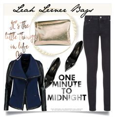 """""""Leah Lerner Bags"""" by amra-mak ❤ liked on Polyvore featuring Paige Denim, Vince, Yves Saint Laurent and LeahLernerBags"""