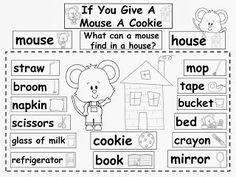 Compoud word mini-unit, using Laura Numeroff's