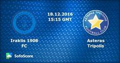 ΗΡΑΚΛΗΣ - ΑΣΤΕΡΑΣ ΤΡΙΠΟΛΗΣ  Iraklis - Asteras Τripolis  live streaming