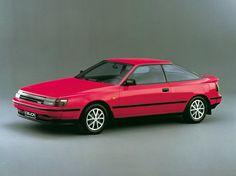 Toyota Celica 2.0 GTi (1985 – 1987). still my favourite car