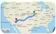 Moving across the country without breaking the bank. Road Trip Rules!