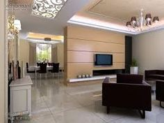 Image Result For Partition Design Living Room And Dining Hall Designs