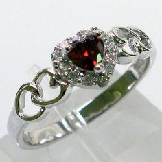 Your Choise of 5 Sterling Silver Sim Gemstone Rings . Starting at $3 on Tophatter.com!