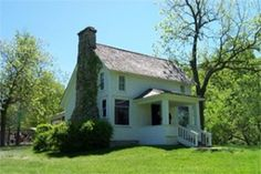 """Please click on Laura Ingalls Wilder's home for a visit to her """"The House On the Prairie"""""""
