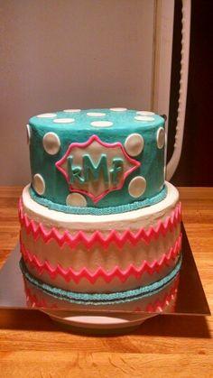 Initials cake