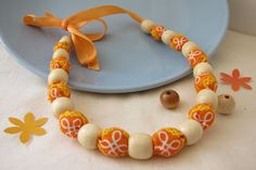 DIY: Fabric and Bead Necklace