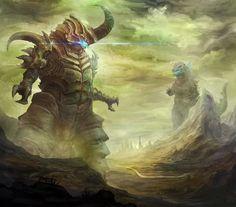 Bagan v Godzilla...