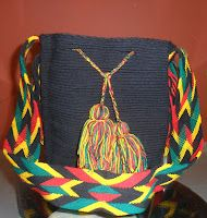 Mochilas Wayuu ~ Arte Guajiro - Mochilas Wayuu, artesanias de Colombia