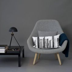 Coco Lapine: Louise Roe design essentials Love this chair! Modern Furniture, Home Furniture, Furniture Design, Womb Chair, Hay Chair, Scandinavia Design, Grey Interior Design, Lounge, Interior Decorating