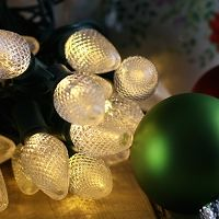 Warm White LED Christmas Lights - Over 12 shapes to choose from