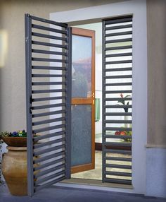 Home Window Grill Design, Balcony Grill Design, Grill Door Design, House Front Design, Fence Gate Design, Privacy Fence Designs, Sliding Door Design, Open House Plans, Lobby Design