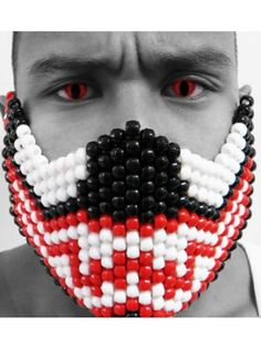 Carnage Kandi Mask