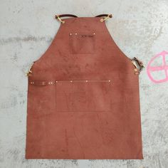 Seen at Meatstock - Leather Apron in cognac. Made from beautiful top grain leather this is made to last, whether you a Smith, a Bartender, a Chef or a PitMaster this apron will perform and make you look like the suave mofo you are. Made by our own @sarahvanoosterom - these will first be available at @losttrades before being released online.