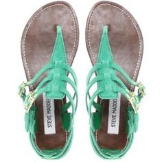 Steve Madden mint sandals
