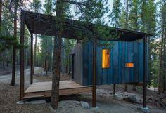 Outward Bound Cabins by Colorado students