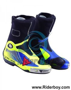 Valentino Rossi Racing Leather Boots, Motorcycle Leather Boots For Men, 2017 motogp collection, Made in Cowhide Top Quality Leather. Valentino Rossi, Motorcycle Leather, Motorcycle Boots, Vr46, Boots For Sale, Selling Online, Motogp, Leather Boots, High Top Sneakers