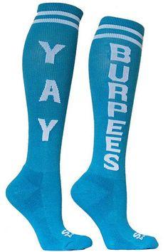 Yay Burpees CrossFit Socks