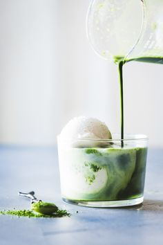 Matcha Ginger Affogato