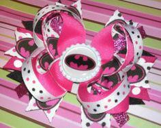 Pink & Black Girly Batman