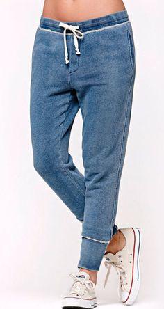 Bullhead Denim Co. Bullhead Denim Co Indigo Knit Jogger Pants
