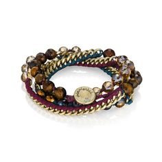 chloe + isabel Natural Beauty, Bead + Ribbon Multi-Wrap Bracelet, B282PR  https://www.chloeandisabel.com/boutique/bbjewelry