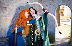 Elinor and Merida Brave by ~Re-Aska on deviantART
