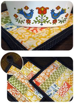 Quilted Hot pads