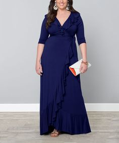 Love this Navy Maritime Maxi Dress - Plus on #zulily! #zulilyfinds