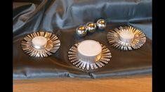 Weihnachtsbasteln, Kerzen- und Teelichthalter, super einfach