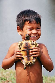 """Sweet little boy wants you to """"see my turtle?"""""""