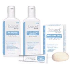 ACNE TREATMENT KIT 4 STEP REGIMEN WITH SULFUR - Joesoef Skin Care