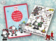 24 Schokoschäfchen warten im sheepworld Adventskalender darauf von Dir vernascht zu werden! http://shop.sheepworld.de/shop/
