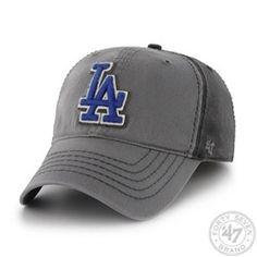 Los Angeles Dodgers LA Stretch Fit Hat '47 Brand Saluki Hat