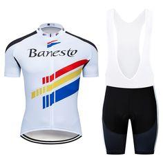 Buy 2018 Banesto Biking Jersey Units Professional group Males Brief Sleeve  Mtb Biking Clothes Bicycle Bike 1ae309f7d