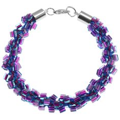 Tutorial - How to: Dark Neon Kumihimo Bracelet | Beadaholique