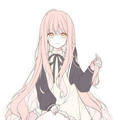 Her secret - Info Arte Do Kawaii, Manga Kawaii, Chica Anime Manga, Kawaii Anime Girl, Kawaii Art, Anime Art Girl, Anime Chibi, Manga Girl, Manga 3d